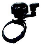 Glocke Mini schwarz universal Alu für Lenker 22,2 - 31,8