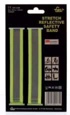 Reflex Armband FASI stretch-klett gelb