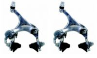 Bremsen Satz Rennrad VR+HR Aluminium silber