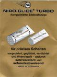 Schaltzug 1,1 x 4500 mm Niro Glide Turbo ölversiegelt