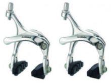 Bremsen Satz VR+HR Rennrad 43 - 57 mm Aluminium silber