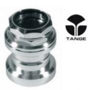 Steuersatz Gewinde TANGE SEIKI 1 Aluminium silber
