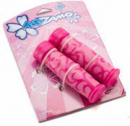Lenkergriffe Kinder KIDZAMO Flower rosa 120/120 mm