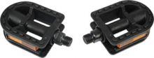 Pedal Kinder 12 - 20 schwarz Achse: 9/16 mit Reflektoren