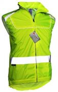 Reflektion Weste Windstopper Gr. XL ( 180 cm ) 3M SCOTCHLITE