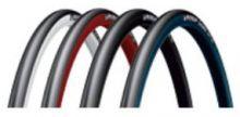 Reifen MICHELIN Rennrad Dynamic Sport 700x23 C rot - schwarz