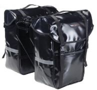 Packtaschen Set rechts + links schwarz wasserfest