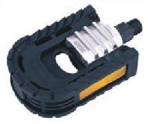 Pedal Falt Aluminium - Kunststoff schwarz / silber
