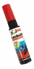 Lack-Reparaturstift BIKEFIT 2 in 1, schwarz-glanz