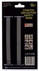 Reflex Armband FASI stretch-klett schwarz