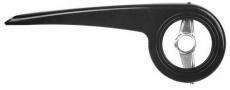 Kettenschutz 33 - 38 Zähne Kunststoff schwarz mit Brille