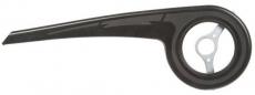Kettenschutz 38 - 40 Zähne Kunststoff schwarz mit Brille