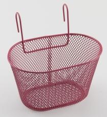 Korb Kinder VR rosa zum einhängen am Lenker 24x17x14,5 cm