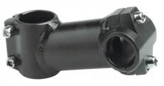 Vorbau A-Head Aluminium 1 1/8 schwarz 80 mm Lenker: 25,4