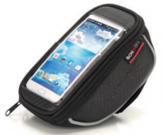 Lenker Smartphone Tasche 17,5x8,5x7 cm schwarz