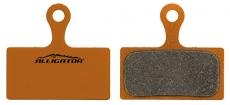 Bremsbeläge ALLIGATOR für Shimano XTR / XT2012 organisch