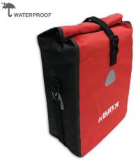 Gepäckträger Tasche LYNX wasserfest rot 16 Liter