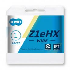 Kette KMC Z1eHX WIDE Anti-Rost EPT silber für Elektroräder