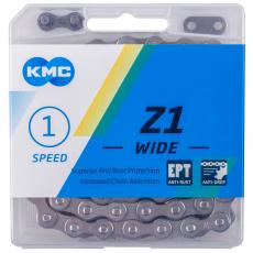 Kette KMC Z1X EPT 125 Glieder silber für Elektroräder
