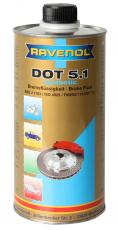 RAVENOL Bremsflüssigkeit1 Liter DOT 5.1
