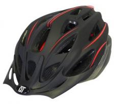 Helm CT Jugend - Erwachsene 54 - 58 cm schwarz / rot