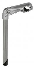 Vorbau ERGOTEC Chess 2 silber 22,2 / 300 mm 90 mm Ausladung