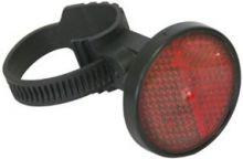 Reflektor Rear AXA rot mit universal Befestigung