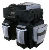 Packtasche 3fach M-Wave Amsterdam Tripple schwarz