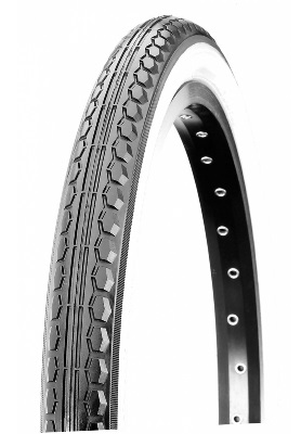 Reifen CST 20 x 1,75 weiß - schwarz Profil: C213